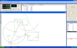 China Vision Measurement System Software Operators can record / store supplier