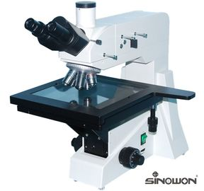 Large Working Stage Microscope Accessories 3 Layer Mechanical Binocular Microscope